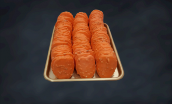 Tuile Chocolat Orange 100gr