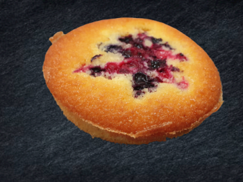 Financier Fruits Rouges
